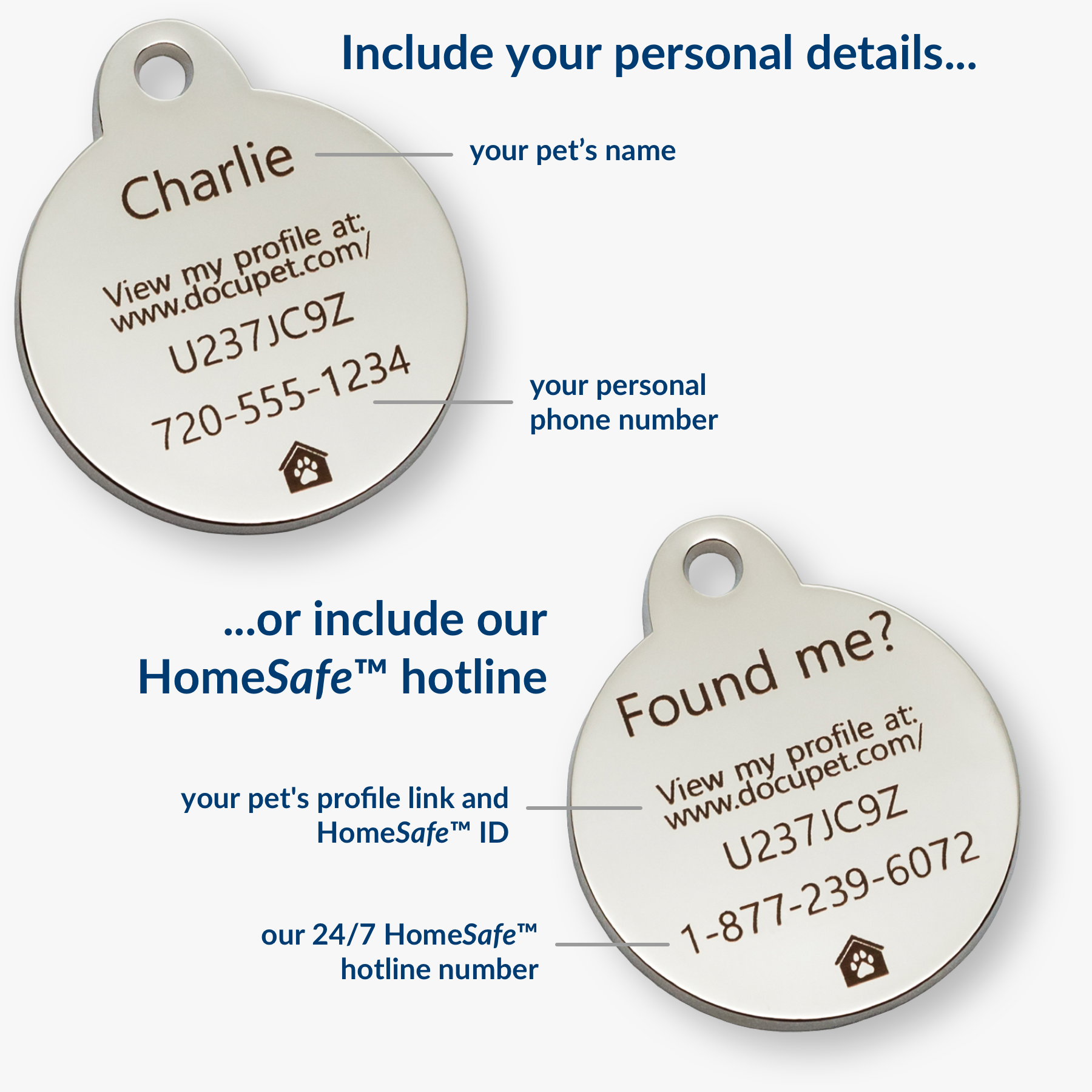 Unique Identifying HomeSafe Code